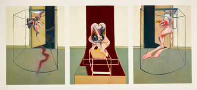 Francis Bacon, 'Triptych Inspired by Oresteia of Aeschylus,', 1981