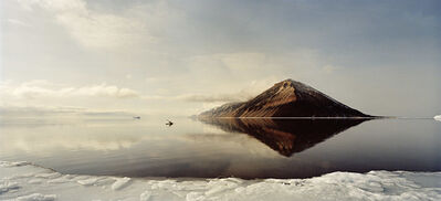 Henrik Saxgren, 'Kayak Man on Calm Seas', 2016