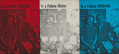 Billy Apple, 'The Presidential Suite: To a Future Historian', 1964