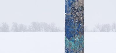 Bill Anderson, 'Telephone Pole and Weathered Paint', 2007