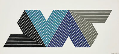 Frank Stella, 'Empress of India I, from V Series', 1968