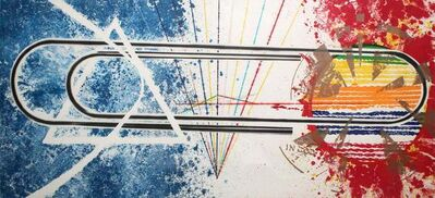 James Rosenquist, 'Cold rolled', 1974-1976