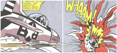 Roy Lichtenstein, 'Whaam! (Diptych)', 1982