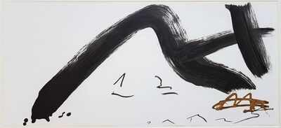 Antoni Tàpies, 'Gestural Abstract Composition', 1982
