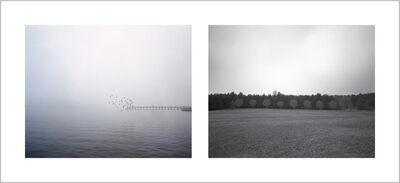 Zhao Jing, 'Leave Taking Near Shoku (送友人入蜀 李白)', 2012