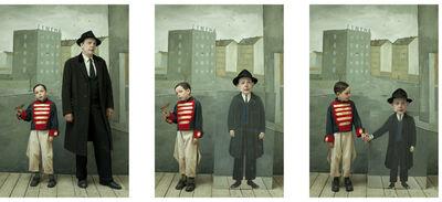Paolo Ventura, 'Homage to Saul Steinberg', 2014