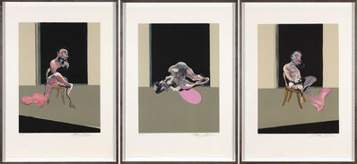 Francis Bacon, 'Triptych August 1972', 1979
