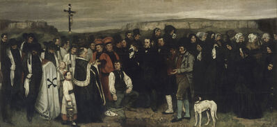 Gustave Courbet, 'The Burial At Ornans', 1849-1850