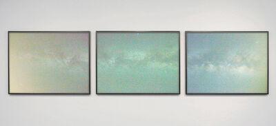 Aaron ROTHMAN, 'Milky Way RGB (Triptych)', 2017
