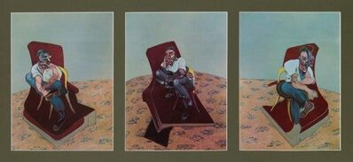 Francis Bacon, 'Three Studies for Portrait of Lucian Freud', 1966