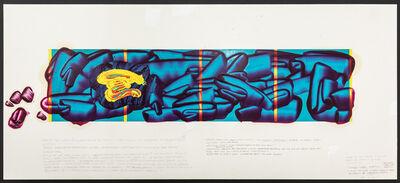 David Reed, 'Color Study #5', 2020