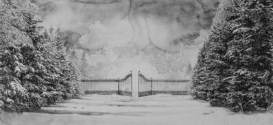 Hans Op de Beeck, 'Snow Landscape (gate)', 2019