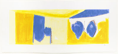 Robert Motherwell, 'Mediterranean Light', 1991