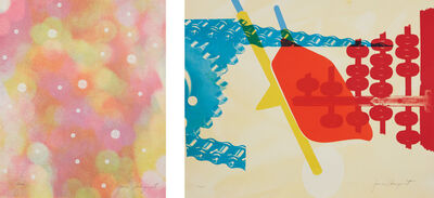 James Rosenquist, 'Circles of Confusion, from 11 Pop Artists, Volume 1; and Whipped Butter for Eugene Ruchin (two prints), from 11 Pop Artists, Volume II', 1965