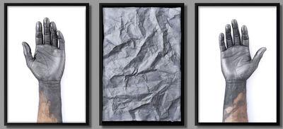 Hugo Lugo, 'Leer el pasado (triptych)', 2013