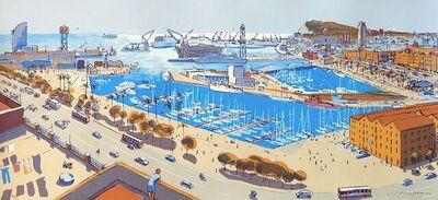 Josep Moscardó, 'Puerto de Barcelona', 2021