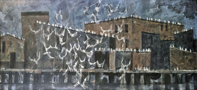 Fletcher Martin, 'Birds - Quarrelling Gulls', 1955