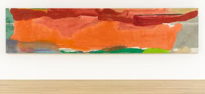 Helen Frankenthaler, 'Under April Mood', 1974
