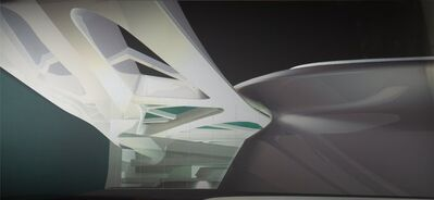 Zaha Hadid, 'Solomon R. Guggenheim Museum, Taichung, Taiwan', 2004