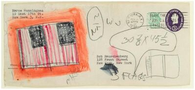 Jasper Johns, 'Untitled (Envelope)'