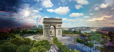 Stephen Wilkes, 'Tour de France, Paris, Day to Night'