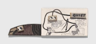Ray Johnson, 'Untitled (Won't You Have to Answer an Awful Lot of Letters?)', n.d.