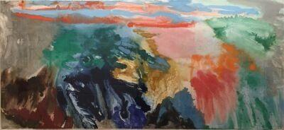 Friedel Dzubas (1915-1994), 'Aruba', ca. 1980