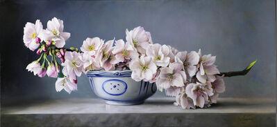 Pieter Wagemans, 'White Blossom'