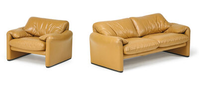 Cassina, 'Cassina Sofa And Lounge Chair', 1960s-70s