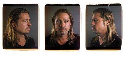 Chuck Close, 'Untitled (Brad)', 2013