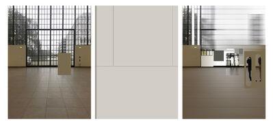 NORA SCHÖPFER, 'aesthetic perception 1, 3-parts', 2019