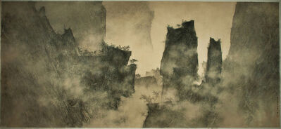 Li Huayi, 'Mountains Looming through the Mist', 2011