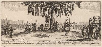 Gerrit van Schagen after Jacques Callot, 'The Hanging'