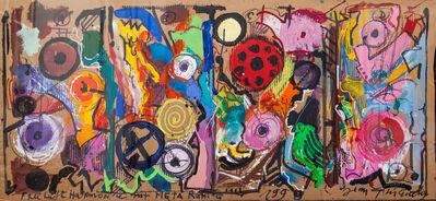 Jean Tinguely, 'Frei Luft Harmonie mit Meta Ruhig', 1990