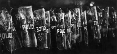 Robert Longo, 'Study of Milwaukee Riot Cops', 2018