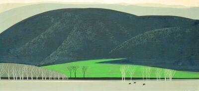 Eyvind Earle, 'Rolling Hills', 1964