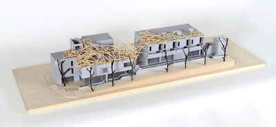 Tadashi Kawamata, 'Starting Over, Under Construction Maquette', 2017