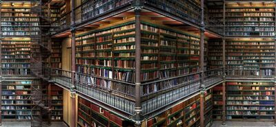 Christian Voigt, 'Research Library III', 2014