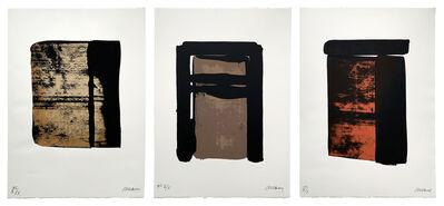 Pierre Soulages, 'Sur le mur d'en face (3 Works)', 1979