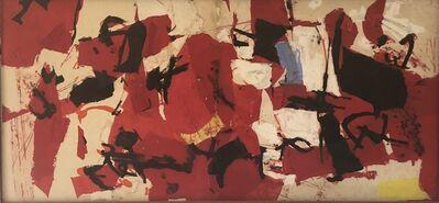 Afro (Afro Basaldella), 'Progetto per il Grande rosso', 1963