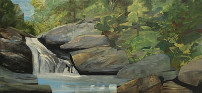 Mariella Bisson, 'Creek Falls in May, Panorama', 2020
