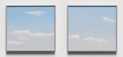Peter Dreher, '20.9.89 and 20.9.89 (diptych)', 1989