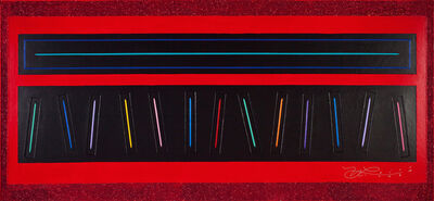 Neil Loeb, 'Electric Piano - Red Glitter', 2013