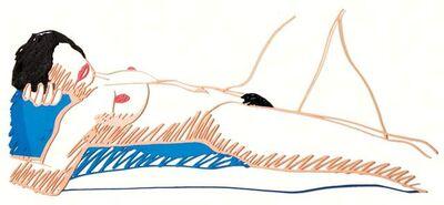 Tom Wesselmann, 'Monica Lying on Her Back', 1985-1997