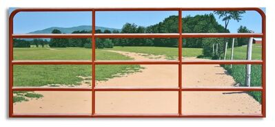 Warner Friedman, 'The Red Gate', 1998