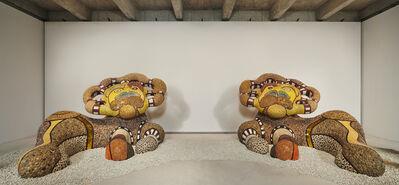 Niki de Saint Phalle, 'Guardian Lions', 2000