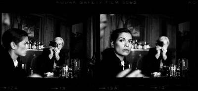 Harry Benson, 'Warhol, Andy & Bianca Jagger, The Factory, NYC', 1977