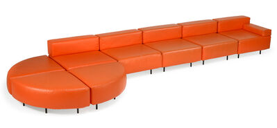 Harvey Probber, 'Eight-piece sectional sofa, USA', 1970s