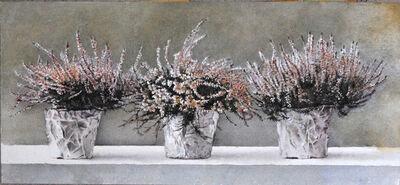 Óscar Tusquets Blanca, 'Tres brezos sobre blanco', 2011