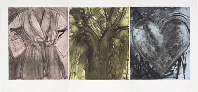 Jim Dine, 'Desire in Primary Colors', 1982